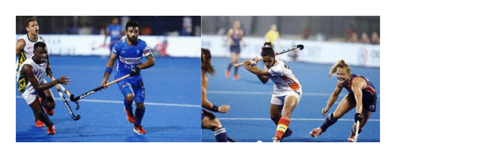 two-photos-combined-mens-hockey-captain-manpreet-singh-other photo-womens-hockey-captain-rani-rampal-each-vying-for-ball