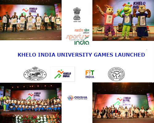collage-of-khelo-india-university-games-inaugration-pics-with-logos-of-sponsoring-associations
