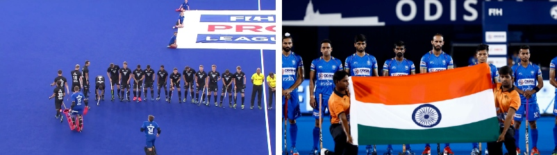 New-Zealand-India-Hockey-Teams