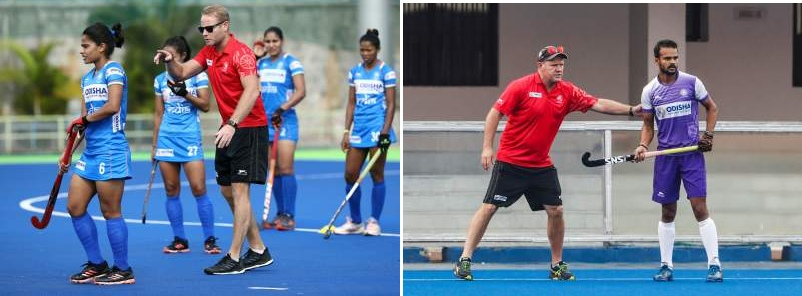 Indian-Women-and-men-Hockey-Coach-At-Training