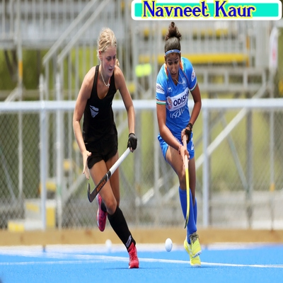 Indian-women-hockey-forward-Navneet-kaur-in-action