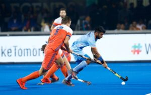 Manpreet-Singh-in-action-against-Netherlands-