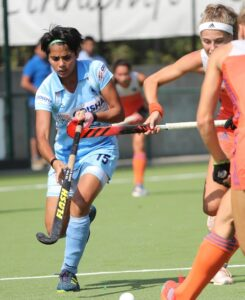 India-junior-hockey-defender-Mahima-Choudhary-in-action