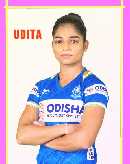 India-woman-hockey-player-Udita-solo-pose