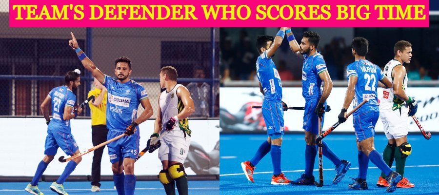 collage-of-two-pics-with-indian-hockey-player-harmanpreet-singh-celebrating-after-scoring-a-goal