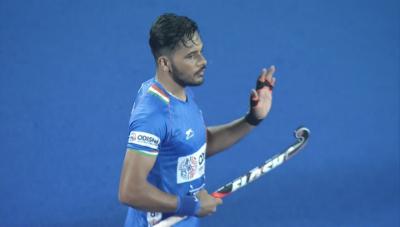 Harmanpreet Singh-in-action-in-match