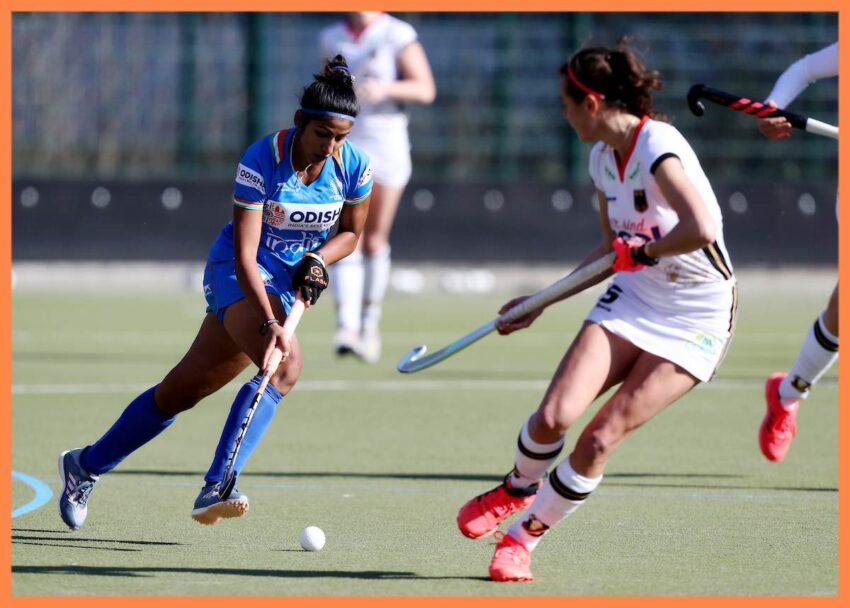Indian-Womans-Hockey-Teams-Navneet-Kaur-in-action-against-Germany